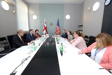 A Meeting with Winners of the Fulbright Program