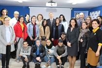 Nino Chelidze Met with the Students and Faculty of the International Black Sea University